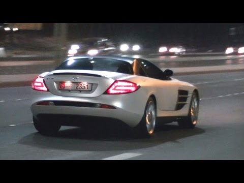 Supercars in Abu Dhabi - SLR, GT-R, MP4-12C & Much More! (Part 1)
