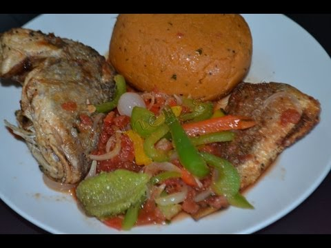 Djenkoumé - amiwo (cuisine togolaise)