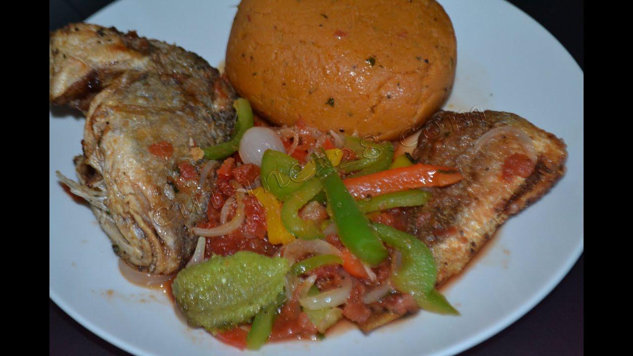 Djenkoum amiwo cuisine togolaise youtube for Cuisine africaine