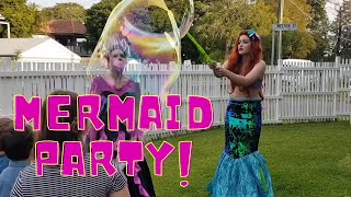 Let's party with a mermaid!