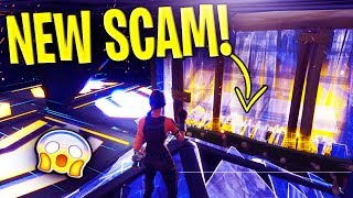 *NEW SCAM* Edit Through Walls Scam BEAWARE! Scammer Gets EXPOSED In Fortnite Save The World