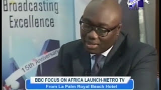 GOOD EVENING GHANA INTERVIEW WITH KOMLA DUMOR AND SOLOMON MUGERA