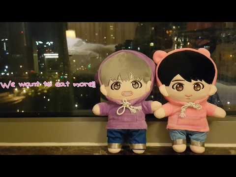 [Daily]Travel with BTS doll🚩Bobi in Ningbo
