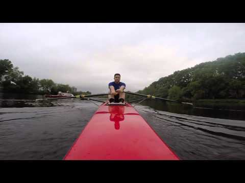 (Day 004) Learning to Sculling on the Boston Charles River