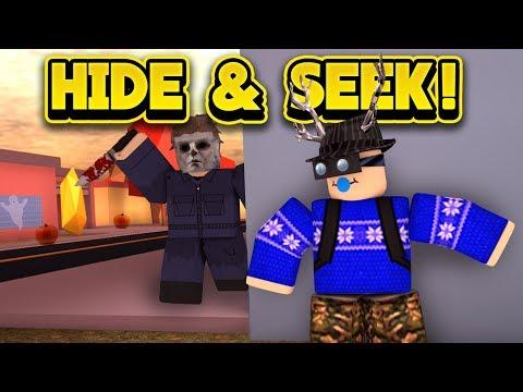 HALLOWEEN HIDE AND SEEK IN JAILBREAK! (ROBLOX Jailbreak)
