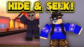 HALLOWEEN HIDE AND SEEK IN JAILBREAK! (ROBLOX Jailbreak)