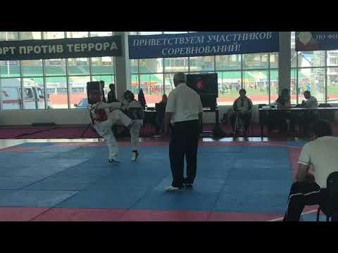 Первенство Дагестана юноши (2005-2007г) Умаров Насрула & Ибрагимов Умар  33 кг.