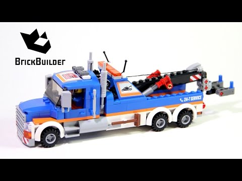 Lego City 60056 Tow Truck - Lego Speed Build - YouTube