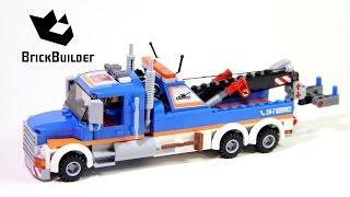 Lego City 60056 Tow Truck - Lego Speed Build