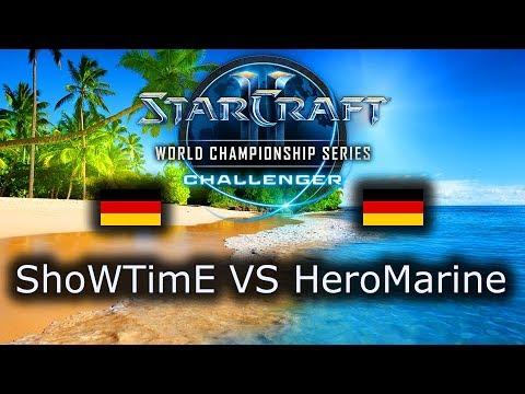 ShoWTimE VS HeroMarine - PvT - WCS Challenger Group B 2019 Summer - polski komentarz