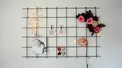 Metallikehikko seinälle
