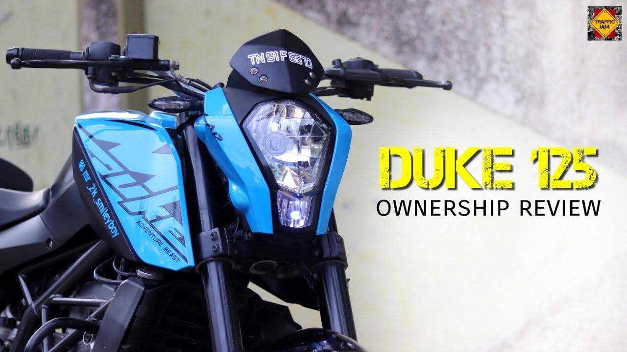 DUKE 125 BS4 | OWNERSHIP REVIEW | BIKE REVIEW | TAMIL | TRAFFIC JAM
