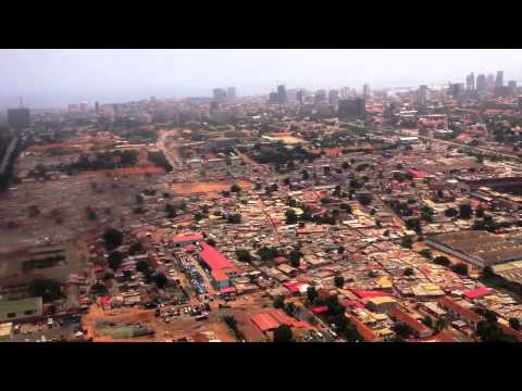 Landing in Luanda, April 15th, 2013