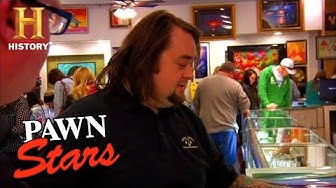 Pawn Stars: CHUM GIVES EXPERT ADVICE ON ONE-OF-A-KIND NIKE POSTERS (Season 8) | History