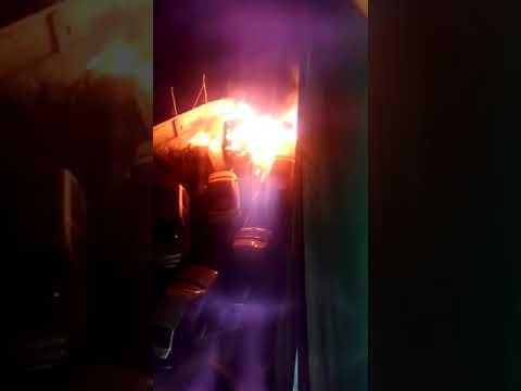 Brucia parte del deposito automobilistico della Policìa Local di Santiago del Teide