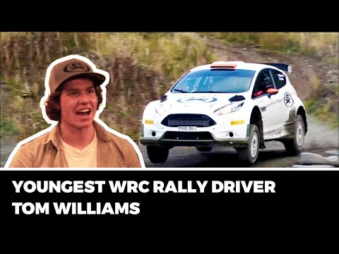 YOUNGEST WRC RALLY DRIVER - Tom Williams! |