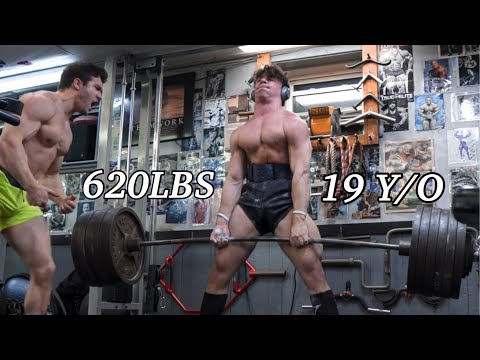 620LB DEADLIFT PR AT 19 IF TESTOSTERONE WAS A WORKOUT w/ JAMES ENGLISH