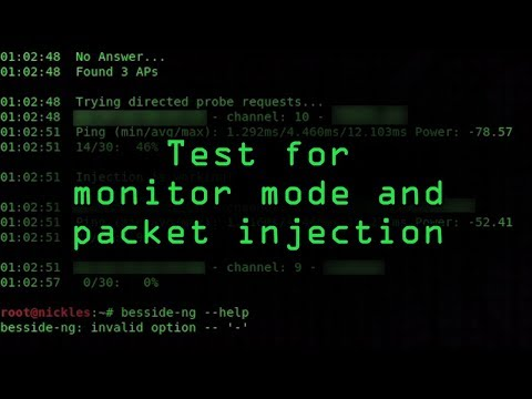 Test if Your Wireless Network Adapter Supports Monitor Mode & Packet Injection [Tutorial]