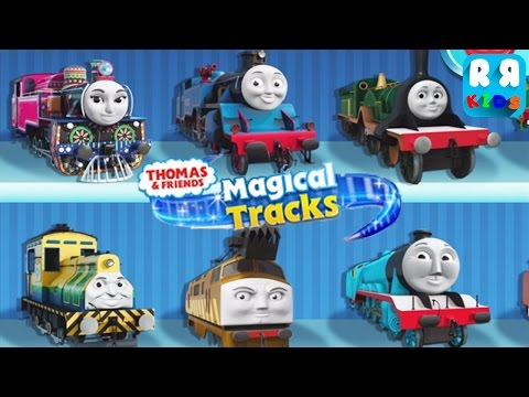 Thomas and Friends: Magical Tracks  Kids Train Set By Budge Studios  Unlock All Train