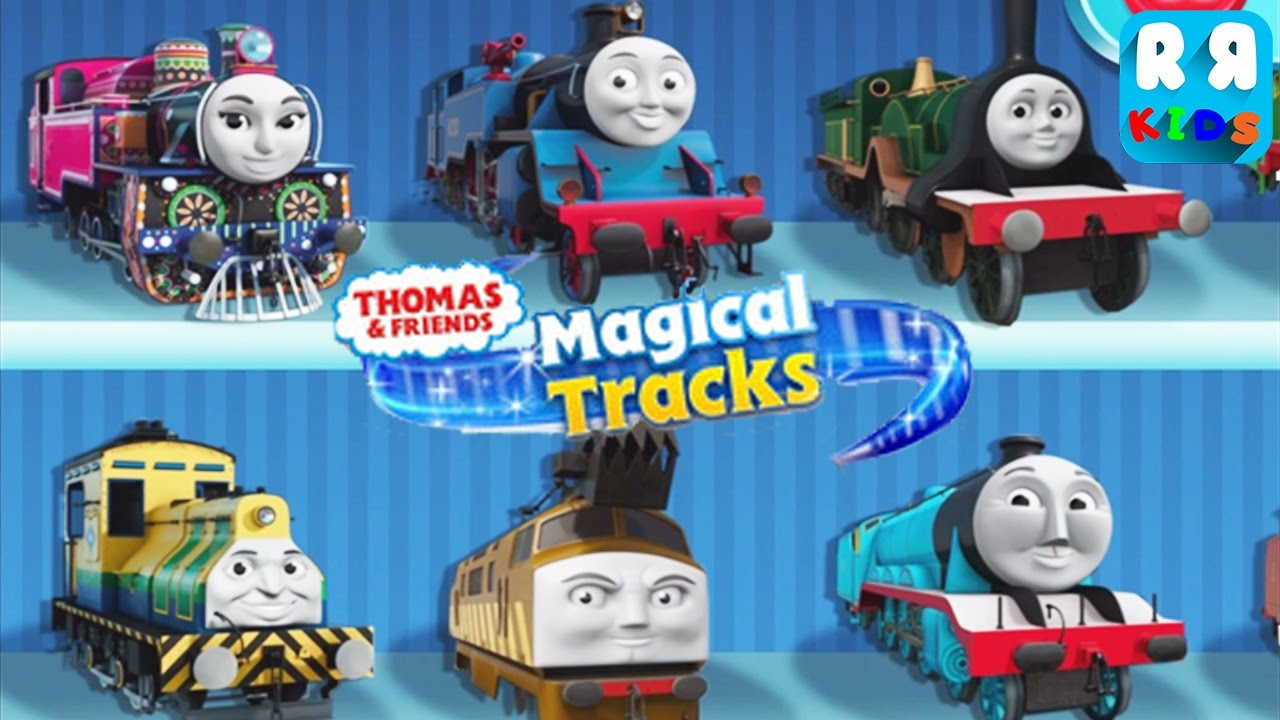 thomas and friends magical tracks kids train set by budge