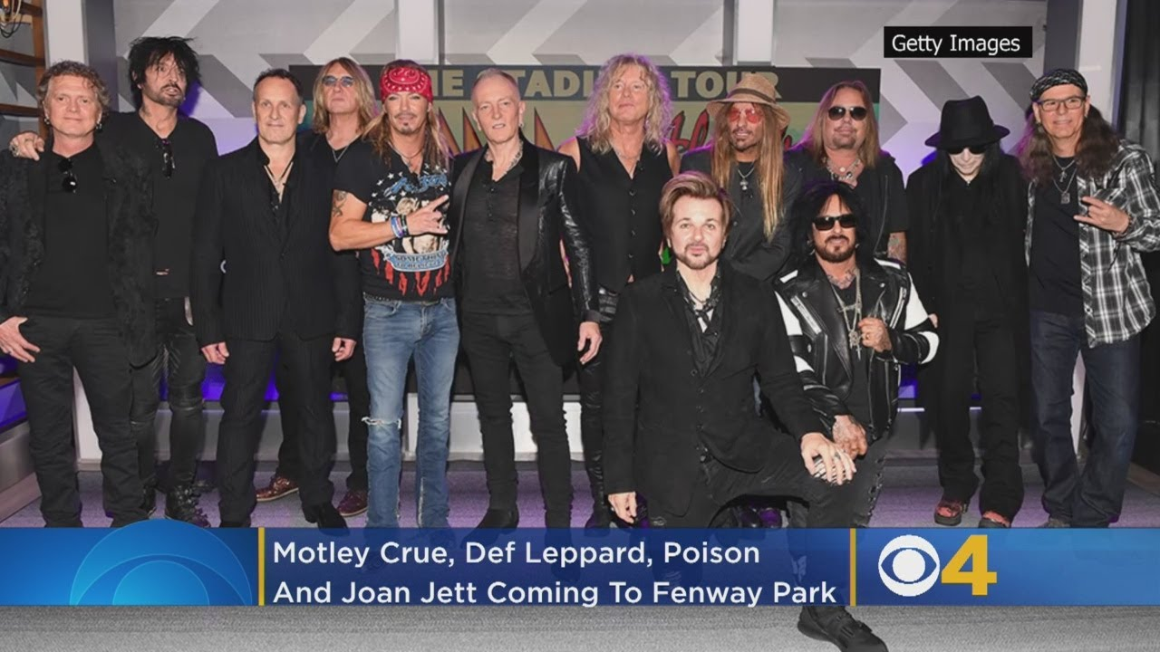 Motley Crue, Def Leppard, Poison and Joan Jett Announce 2020 Tour