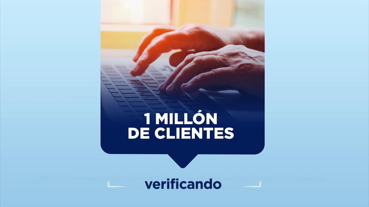 1 Millón de Clientes en Mi Banco