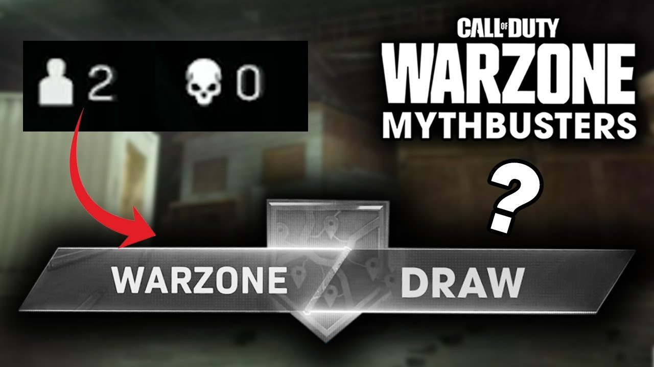 Warzone Mythbusters - Can You Draw?