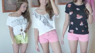 Repeat youtube video Summer Outfits ♥ Part 1