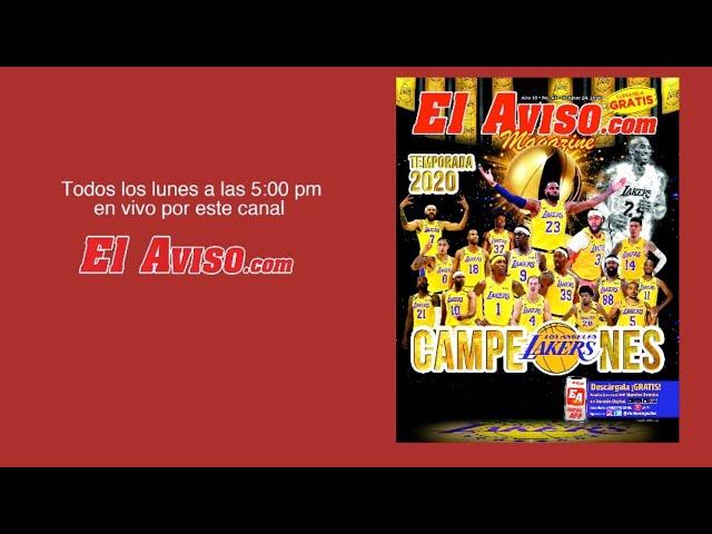 EN VIVO -  Lakers campeones 2020 en nuestra portada Ed. 43