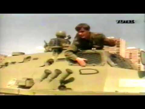 Yugoslav People's Army (JNA) in Sarajevo - march 1992
