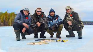 Рыбалка на жерлицы Ловля щук Закрытие сезона зимне ловли Седаново 2021
