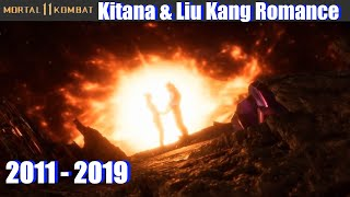Kitana & Liu Kang Romance (Current Timeline MK11) - Mortal Kombat 11