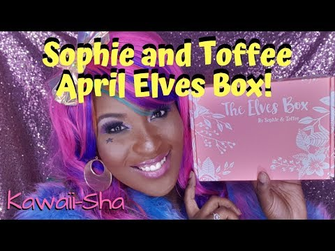 Kawaii-Sha! Sophie and Toffee April Elves Box 2019!