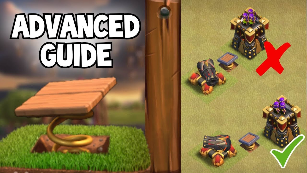 Ultimate Spring Trap Guide - 3 Hogs Every Time!   Clash of Clans ...