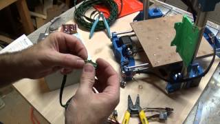 Setting up ATX power supply for the 3D printer