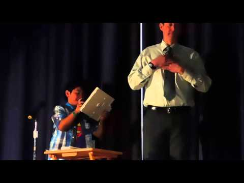 Nathan's 2016 Talent Show at Vine Street Elementary School