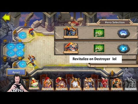 Scatter & Corrode Are OWNAGE In Squad Showdown Castle Clash