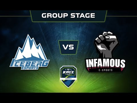 Iceberg vs Infamous Game 1 - King's Cup: America Group Stage - @DakotaCox @GranDGranT @Lacoste