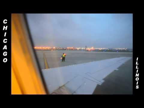 Amazing Jet Window Timelapse Flight: U.S. East Coast: South to North
