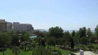 Türkei Colakli Side Hotel Side Sungate  Evrenseki Side Alanya von aussen