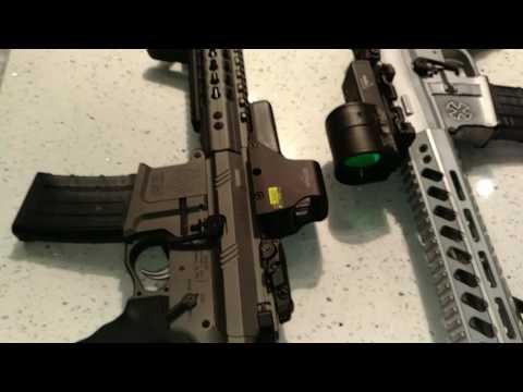Custom AAC 300 Blackout Comparison