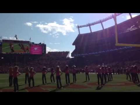 Denver Broncos Cheerleaders- Footloose performance