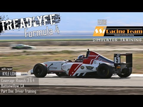 TREADLYFE | Formula 4 - Rounds 3 & 4 | Driver Training: Simulators