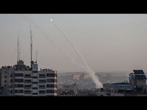 Sirens sound in central Israel, warning of rockets from Gaza