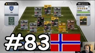 Fifa 13 | Ultimate Team LP (83) | Norwegen Power [Squad Building] + Liga 1 Spiel