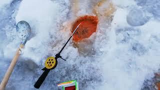 Зимняя рыбалка в первый раз