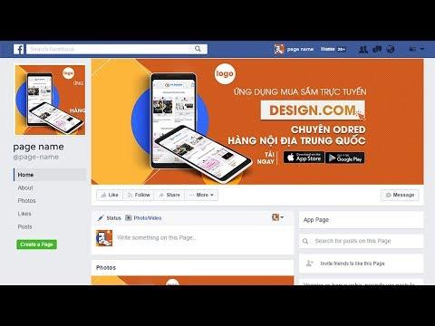 Hướng dẫn thiết kế ảnh bìa Fanpage đúng chuẩn bằng Photoshop | Hải Thanh Design