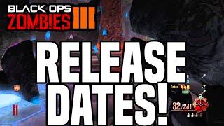 BLACK OPS 3 ZOMBIES DLC 4 REVELATIONS TRAILER & MAP PACK RELEASE DATES! DLC 4 Revelations Release!?