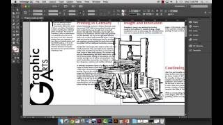 Project 5 - Various InDesign Techniques #1
