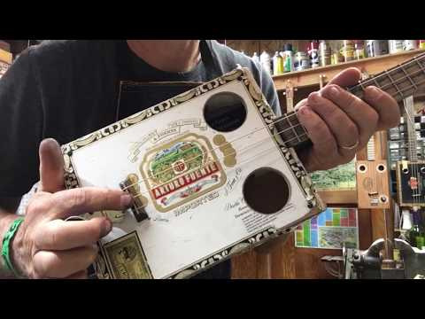 Open C Tuning For The Cigar Box Guitar
